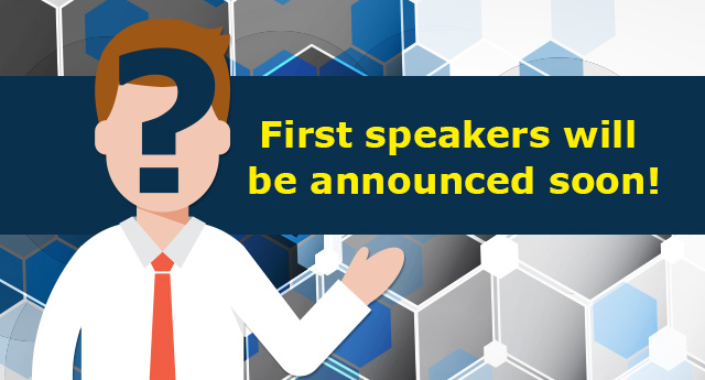 We'll announce our first speakers soon, stay tuned!